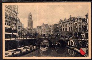 Oudergracht Met Bakkerbrug,Utrecht,Germany BIN