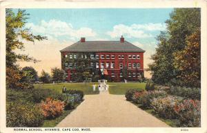 Massachusetts  Hyannis,  Normal School,