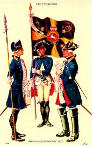 Brunswick Infantry Regiment, 1776