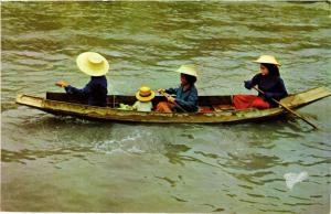 CPM THAILAND Thai Boat-Vendors selling Fruits and vegetables (345660)