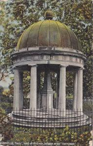 TUCK #2570, Tomb of Andrew Jackson st the Hermitage, Nashville, Tennessee, ...