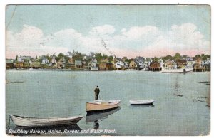 Boothbay Harbor, Maine, Harbor and Water Front
