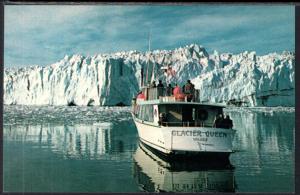 Massive Columbia Glacier,Glacier Queen Tour Boat