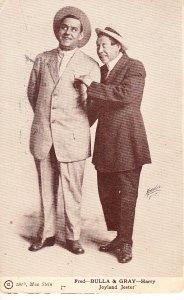Bull & Gray - Joland Jester   Vaudville  1914