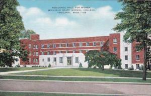 Michigan Ypsilanti Residence Hall For Women Michigan State Normal School