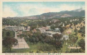 SANTA FE , New Mexico , 1910-30s ; Hilltop View, Bishop's Lodge
