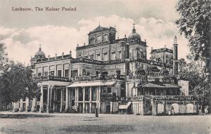 Lucknow, India, The Kaisar Pasind, Early Postcard, unused