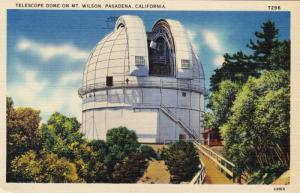 Telescope Dome on Mt. Wilson, Pasadena, California, 30-40s