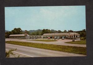 TN Dixie Motel Asheville Hwy Knoxville Tennessee Tenn Postcard