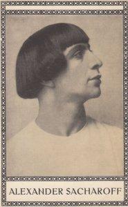 Alexander Sacharoff , Russian Dancer , Teacher & Choreographer , 1900-10s