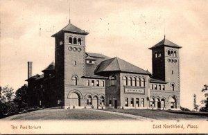 Massachusetts East Northfield The Auditorium 1908