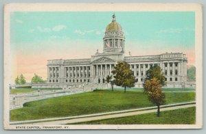 Frankfort Kentucky~State Capitol Building~Vintage Postcard