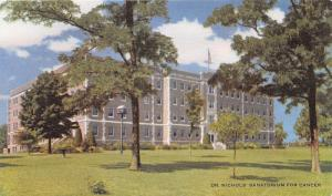 Savannah Missouri~Dr Nichols Sanatorium~Cancer Its Proper Treatment Book~1940s
