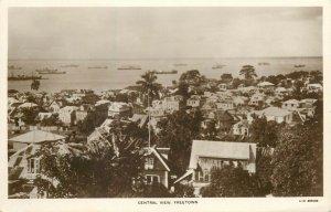 Sierra Leone - FREETOWN - central view rppc