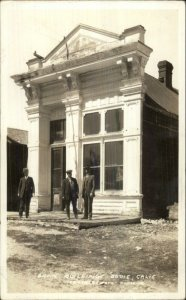 Bodie CA Bank Building c1920s-30s Real Photo Postcard FRASHER'S