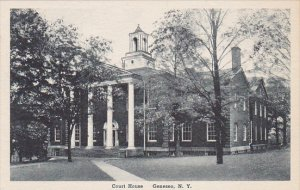 Court House Geneseo New York Albertype