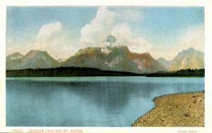 WY - Grand Teton National Park. Jackson Lake, Mt Moran   (Haynes)