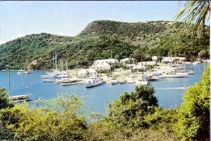 English Harbour, Antigua - NELSONS OLD NAVAL DOCKYARD 1970s  OVERSIZED