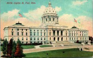 Vintage Postcard Early 1900s Acmegraph Co - Capital Building St. Paul, Minnesota