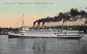 C.P.R. Flyer S.S. PRINCESS Victoria ,Victoria , B.C. , Canada , 00-10s