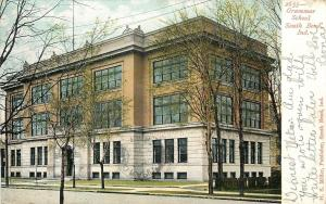 South Bend Indiana~Grammar School~1906 Postcard