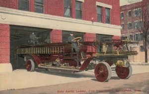 SPRINGFIELD , Massachusetts, 00-10s ; Fire Department Ladder truck
