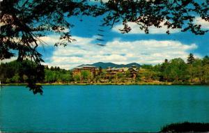 New York Adirondacks Lake Placid The Lake Placid Club 1956