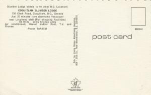 COQUITLAM , B.C. , Canada , 50-60s ; Coquitlam Slumber Lodge