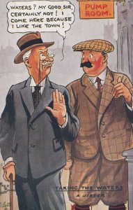 COMIC; 1900-1910's; Waters? My Good Sir, Certainly Not! I Come Here Because ...