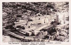 RP: KENORA, Ontario, Canada, 10-20s; The Ontario-Minnesota Pulp & Paper Company