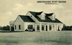 RI - Hopkinton. Greyhound Post House