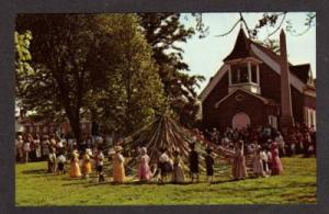 DE DOVER Days Maypole Old Christ Church DELAWARE PC