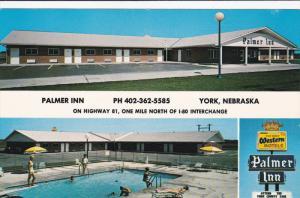 Swimming Pool, Palmer Inn, Highway 81, YORK, Nebraska, 40-60's