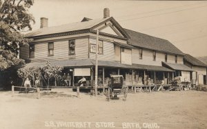 RP: BATH , Ohio, 1900-10s ; S.B. Whitecraft Store