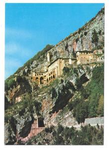 Italy Rome Subiaco Sacro Speco Abbey St Benedict Monastery