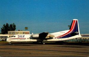 Air Charter Express FH-227B Ar Orly Airport Paris