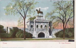 Illinois Chicago The Grant Monument Curteich