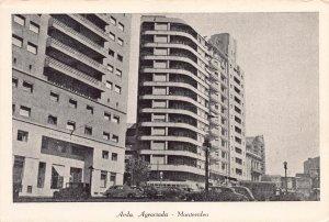 Avda, Agraciada, Montevideo, Uruguay, early postcard, unused
