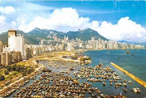 Eastern District Hong Kong Victoria Looking down Eastern District Victoria Lo...