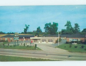 Pre-1980 MOTEL SCENE Baltimore Maryland MD AD9314
