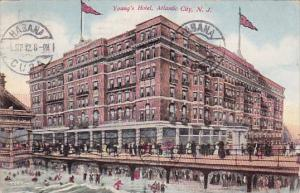 New Jersey Atlantic City Young's Hotel 1912