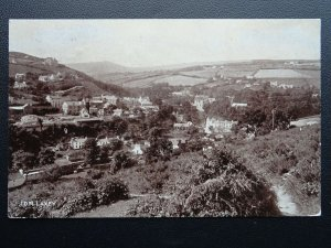 Isle of Man LAXEY VILLAGE Panoramic View c1912 Postcard by Vannin Veg Veen