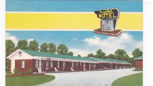 Crystal Motel, 3 miles South of Columbia, South Carolina, PU-1955