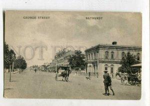 3147459 AUSTRALIA BATHURST George street Vintage postcard