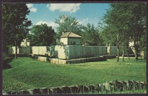 Fort Massac State Historical Site,IL Postcard