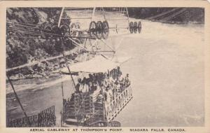 People on the Aerial Cableway at Thompson's Point, Niagara Falls, Canada, 00-10s