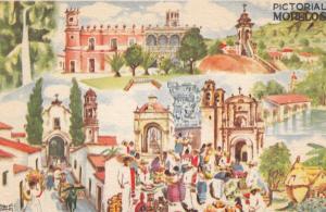 AS: Pictoral de Morelos, 8-Views, Miguel Gomez Medina, Mexico, 10-20s