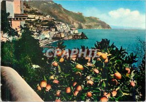Modern Postcard Panorama Amalfi