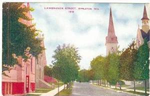 Lawerance Street,Appleton,Wisconsin ,1910-20s