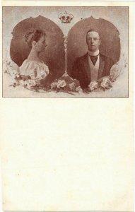 CPA AK HM Koningin Wilhelmina en ZKH Prins Hendrik DUTCH ROYALTY (849013)
